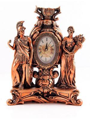 Часы каминные Мифы Греции Русские подарки. Цвет: бронзовый