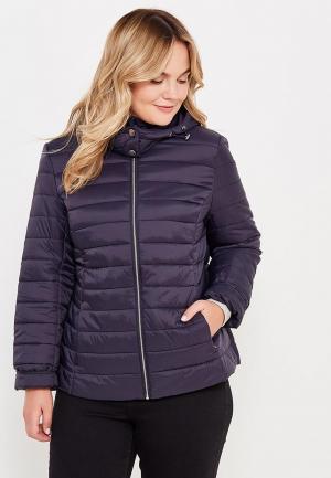 Куртка утепленная Violeta by Mango. Цвет: синий