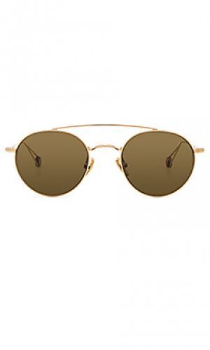 Солнцезащитные очки bastille Ahlem. Цвет: металлический золотой