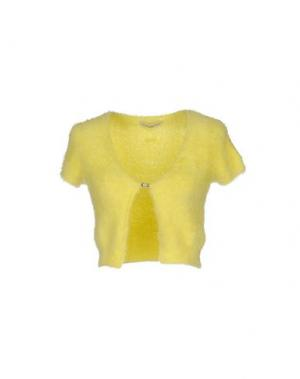 Кардиган SONIA FORTUNA. Цвет: желтый