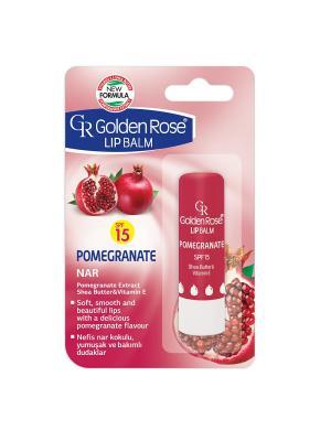 Бальзам для губ Гранат SPF 15 Golden Rose... Цвет: красный