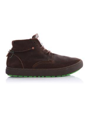 Ботинки Satorisan. Цвет: серо-коричневый