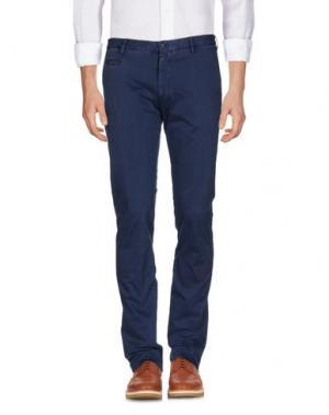 Повседневные брюки ALTEA DAL 1973. Цвет: грифельно-синий