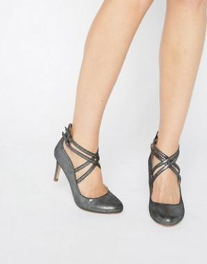 Head Over Heels Туфли на каблуке By Dune Alisha. Цвет: серебряный