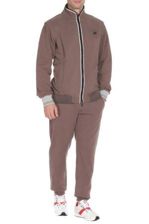 Спортивный костюм ITALIAN RUGBY STYLE. Цвет: коричневый