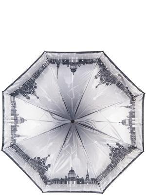 Зонт Eleganzza. Цвет: черный, серый