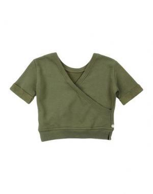 Толстовка MANILA GRACE DENIM. Цвет: зеленый-милитари