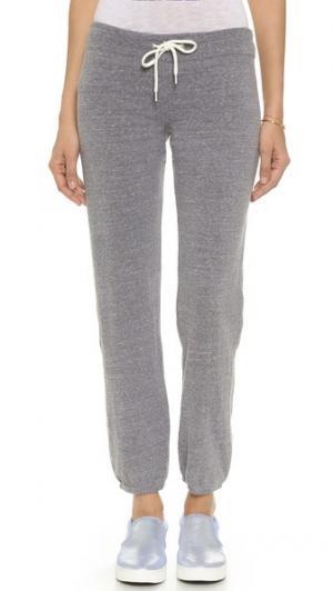Винтажные спортивные брюки MONROW. Цвет: серый меланж