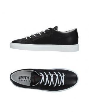Низкие кеды и кроссовки SMITH'S AMERICAN. Цвет: черный