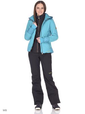 Куртка сноубордическая Volkl. Цвет: бирюзовый