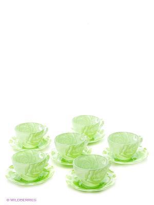 Набор чайный Bekker. Цвет: зеленый