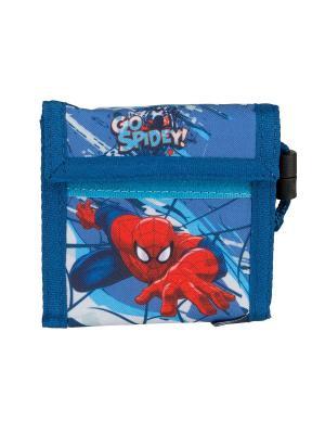 Кошелек. Spider-man Classic. Цвет: голубой, красный