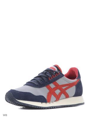 Спортивная обувь DUALIO ONITSUKA TIGER. Цвет: серый, красный