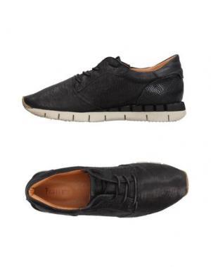 Низкие кеды и кроссовки PAWELK'S. Цвет: черный