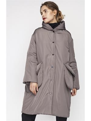 Пальто Sultanna Frantsuzova. Цвет: бежевый
