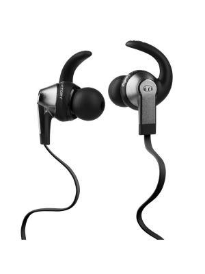 Наушники с микрофоном Monster iSport Victory (Black) In-Ear Headphones. Цвет: черный