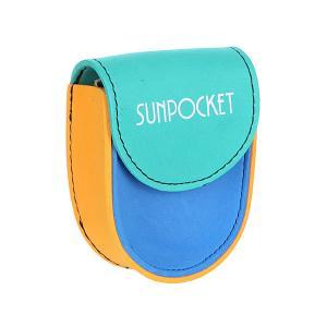 Чехол дл очков  Neoprene Case Colorblock Sunpocket. Цвет: оранжевый,синий,зеленый
