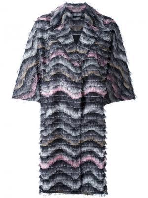 Пальто Floretta Dvf Diane Von Furstenberg. Цвет: многоцветный