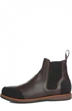 Полусапоги Zonkey Boot. Цвет: темно-коричневый