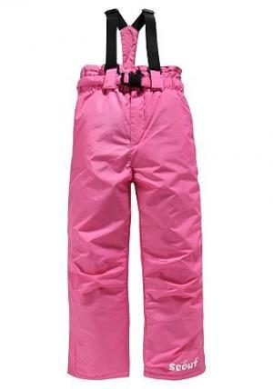 Утепленные брюки SCOUT. Цвет: ярко-розовый