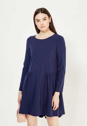 Платье Patrizia Pepe. Цвет: синий