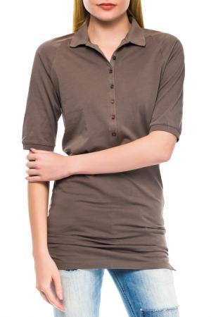 Рубашка Gas. Цвет: коричневый