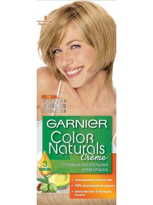 Стойкая питательная крем-краска для волос Color Naturals, оттенок 8, Пшеница Garnier. Цвет: бежевый