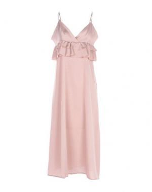 Платье до колена VICOLO. Цвет: пастельно-розовый