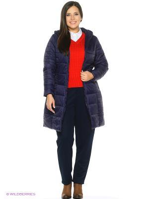 Пальто на синтепоне Modis. Цвет: темно-серый, фиолетовый, черный