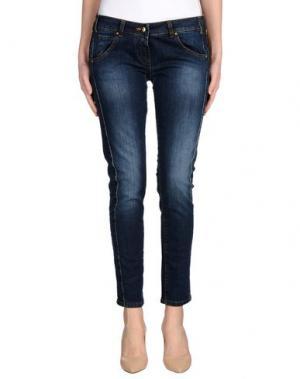 Джинсовые брюки KITTE. Цвет: синий