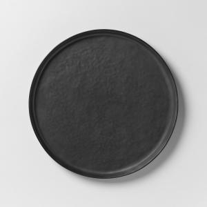 Тарелка десертная из керамики Pure P.Naessens для Serax AM.PM.. Цвет: черный