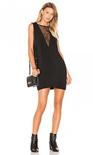 Платье maelie IRO. Цвет: черный