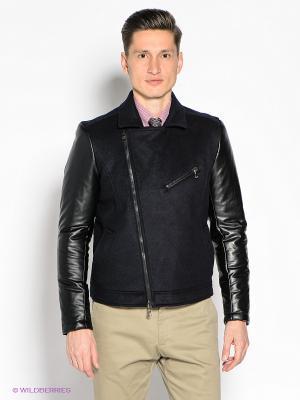 Куртка GUESS. Цвет: темно-синий