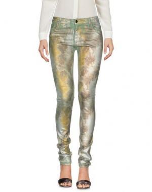 Повседневные брюки 75 FAUBOURG. Цвет: зеленый