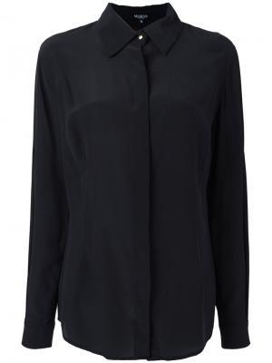 Рубашка с длинными рукавами Moeva. Цвет: чёрный