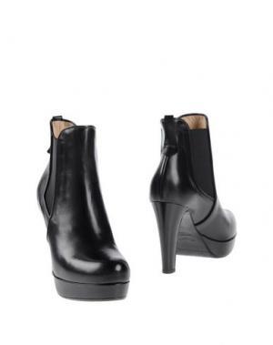 Полусапоги и высокие ботинки F.LLI BRUGLIA. Цвет: черный