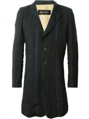 Пальто  Eduard Uma Wang. Цвет: чёрный