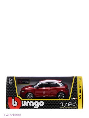 Машина AUDI A1 металл 1:24 BB Bburago. Цвет: красный