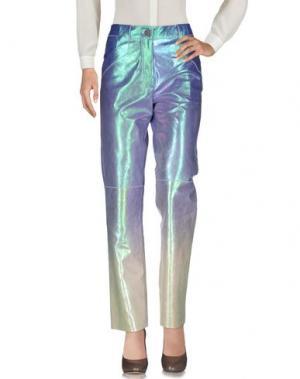 Повседневные брюки LOEWE. Цвет: сиреневый