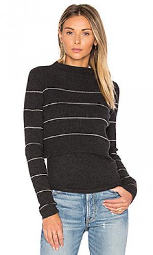 Свитер в полоску isa 360 Sweater. Цвет: серый