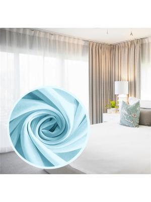 Вуаль Amore Mio однотонная 600*290 см - 1 шт. Голубой. Цвет: голубой