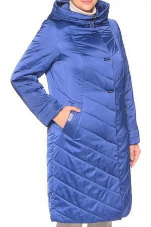 Пальто MONTSERRAT. Цвет: синий