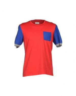Футболка MAGLIARO. Цвет: красный