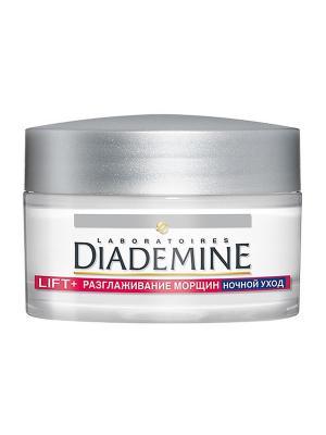 Ночной крем LIFT + разглаживание морщин Superfiller 50мл Diademine. Цвет: молочный