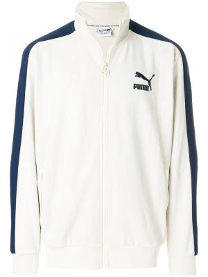 Zipped jacket Puma. Цвет: телесный