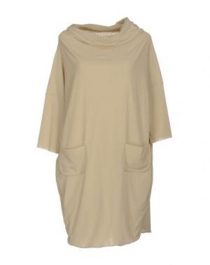Короткое платье ALMERIA. Цвет: светло-серый