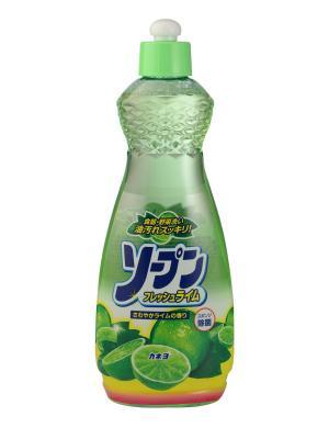 Жидкость для мытья посуды, овощей и фруктов KANEYO свежий лайм 600 мл. Цвет: белый