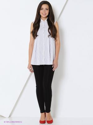 Рубашка RUXARA. Цвет: белый