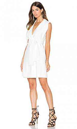 Платье westall Acler. Цвет: белый