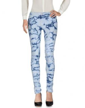 Повседневные брюки MOTHER. Цвет: грифельно-синий